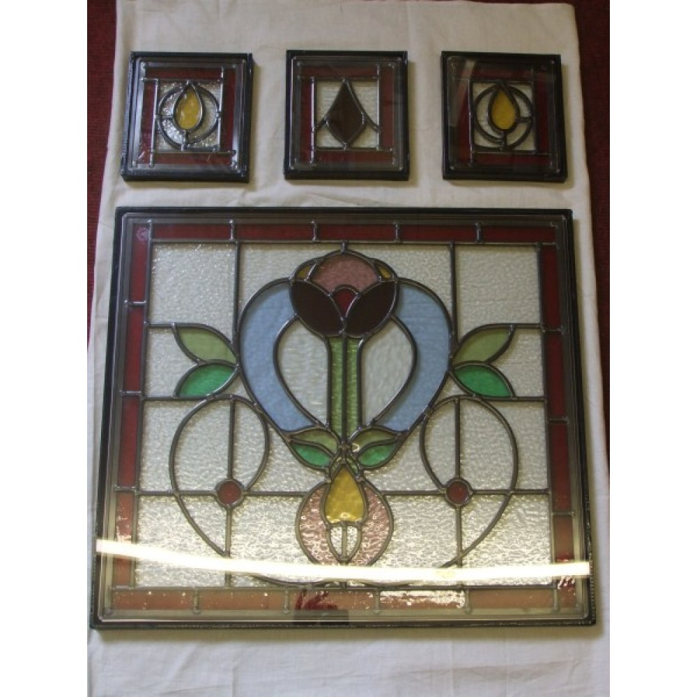Double Glazing Of Stained Glass Panels