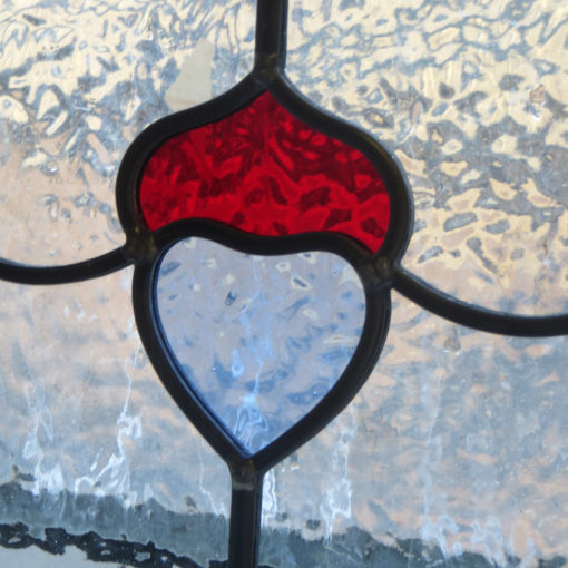 Simple Art Nouveau Stained Glass Panels