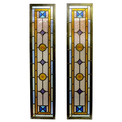 Golden Kyle Stained Glass Panels