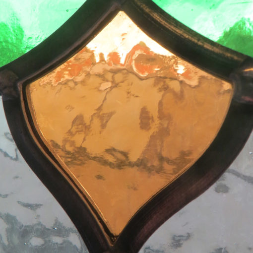 Simple Traditional Stained Glass Panel