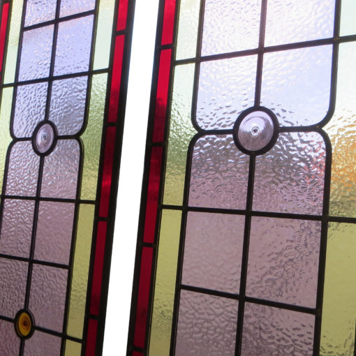 Simple Contemporary Stained Glass Panels
