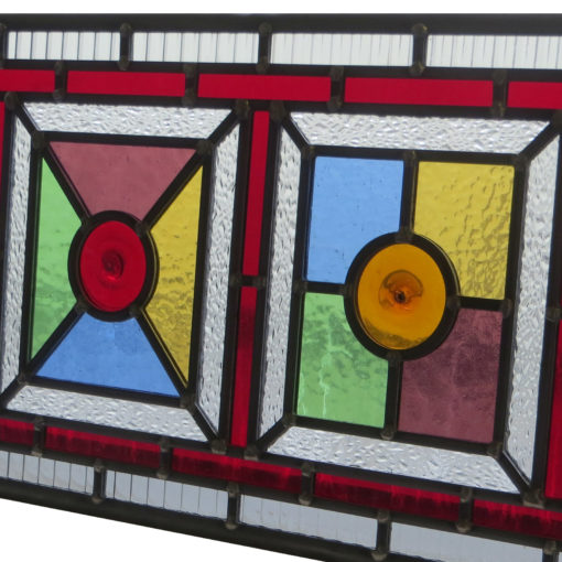 Intricate Colourful Stained Glass Panels
