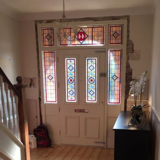 SG001 - Intricate Traditional Stained Glass Panels