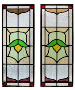 Simple Traditional Stained Glass Panels