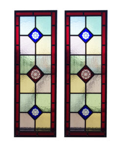 Colourful Traditional Stained Glass Panels