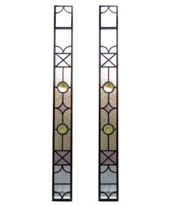Tall Thin Stained Glass Panels