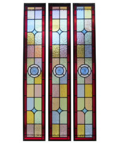 Colourful Stained Glass Panels