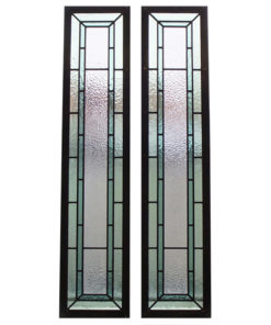 Simplistic Contemporary Stained Glass Panels