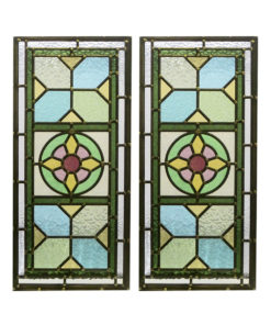 Traditional Detailed Stained Glass Panels
