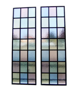Simple Colourful Stained Glass Panels