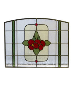 Floral 1930 Stained Glass Panel