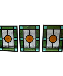 Simple Edwardian Stained Glass Panels
