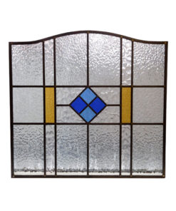 Diamond Center 1930s Stained Glass Panel
