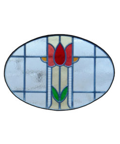1930 Period Stained Glass Panel