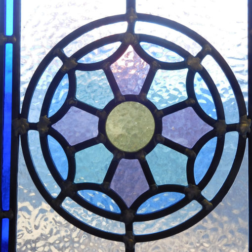 Victorian Star Stained Glass Panels