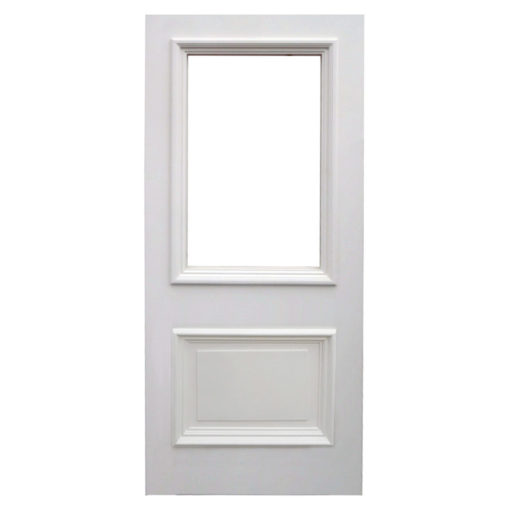 BD01 - Hardwood Two Panel Front Door (Victorian/Edwardian)