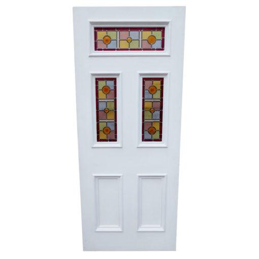 ND09 - Victorian Moulded Fanlight 5 Panel Door Example