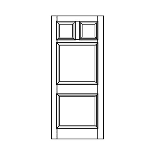 ND14 - Victorian To Edwardian Moulded 4 Panel Door