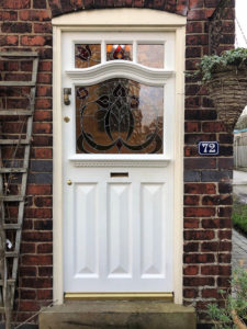 Bespoke 1930s Art Deco Front Door