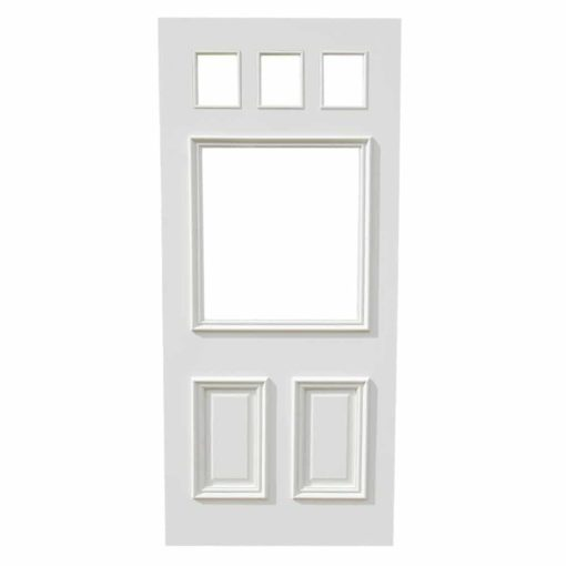 ND17 - Victorian To Edwardian 6 Panel Moulded Door Example
