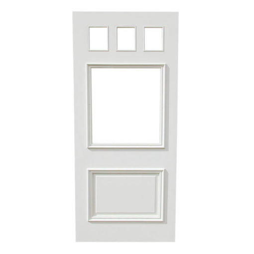 ND18 Example - Victorian To Edwardian 5 Panel Moulded Door