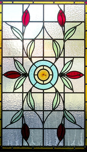 Fully Bespoke Stained Glass Panel Designs Traditional Front Doors