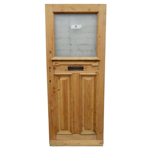 OD012 - Original 1930s 3 Panel Pine Door