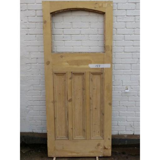 OD003 - Original 1930s Arched Door Back (External) (EXT153)