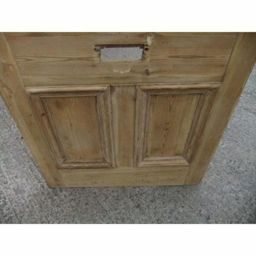 OD007 - Restored Original 3 Panel Etched Glass Door - Lower Panels