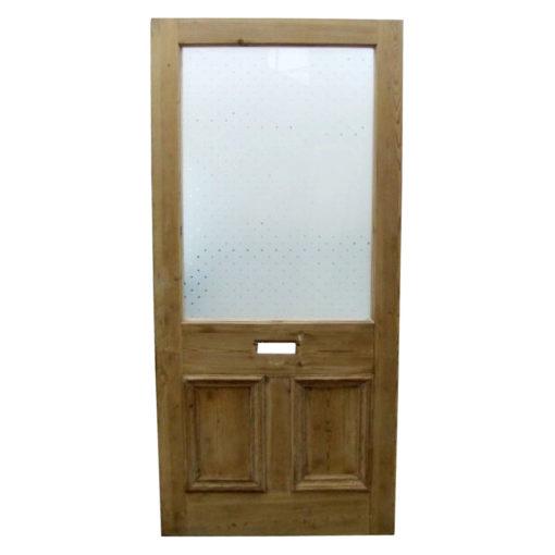 OD007 - Restored Original 3 Panel Etched Glass Door