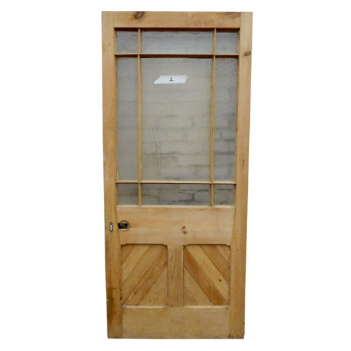 OD010 - Unrestored Original Pine Door
