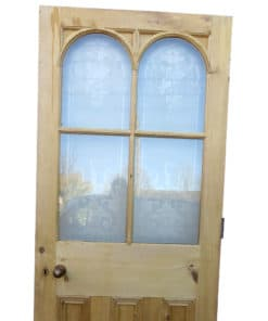OD005 - Original Arched Etched Glass Door (External) (EXT166)