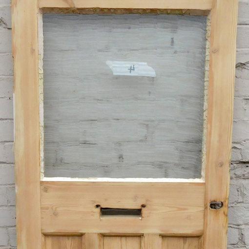 OD011 - Unrestored Original 1930s Pine Door Closeup