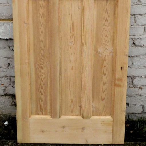 OD011 - Unrestored Original 1930s Pine Door - Lower Panels