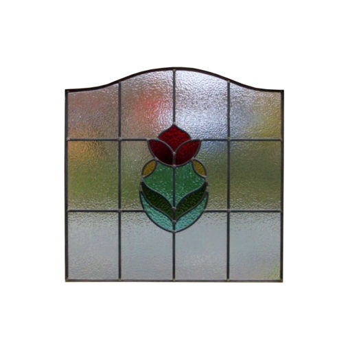 SG162 - 1930s Rose Bud Stained Glass Design