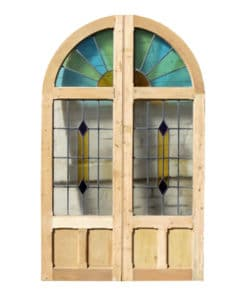 DD001 - Original 1930s Art Deco Double Doors