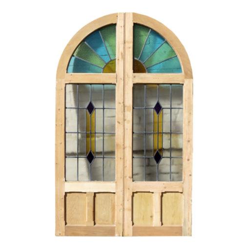 DD001 - Original 1930s Art Deco Double Doors