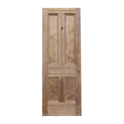 OD020 - Original Victorian To Edwardian 4 Panel Door