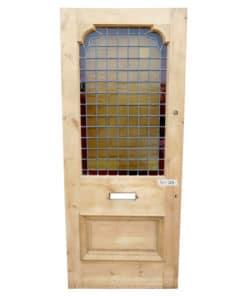 Partially Restored 2 Panel Door (External)