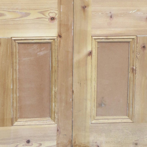 Traditional Pine Victorian Double Doors - Lower Panels