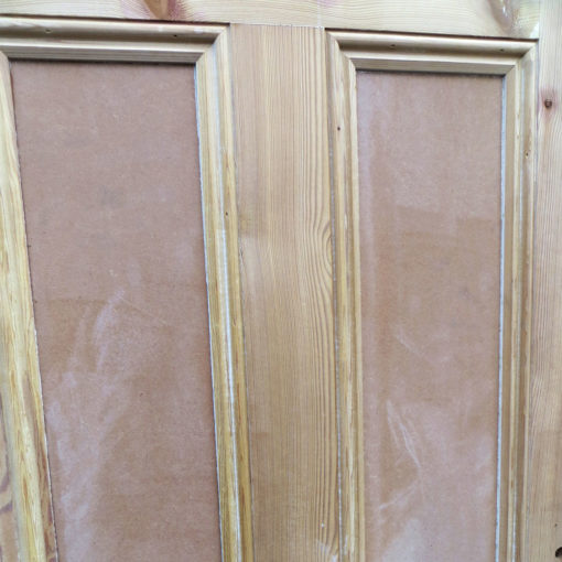 Traditional Pine Victorian Double Doors - Middle Panels