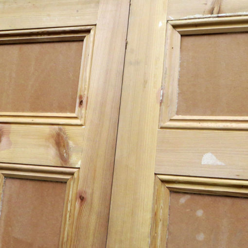 Traditional Pine Victorian Double Doors - Top Panels
