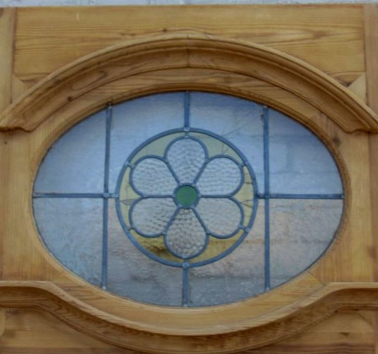 1930 39 S Stained Glass Doors 1930 Edwardian Original Stained Glass Exterior Door