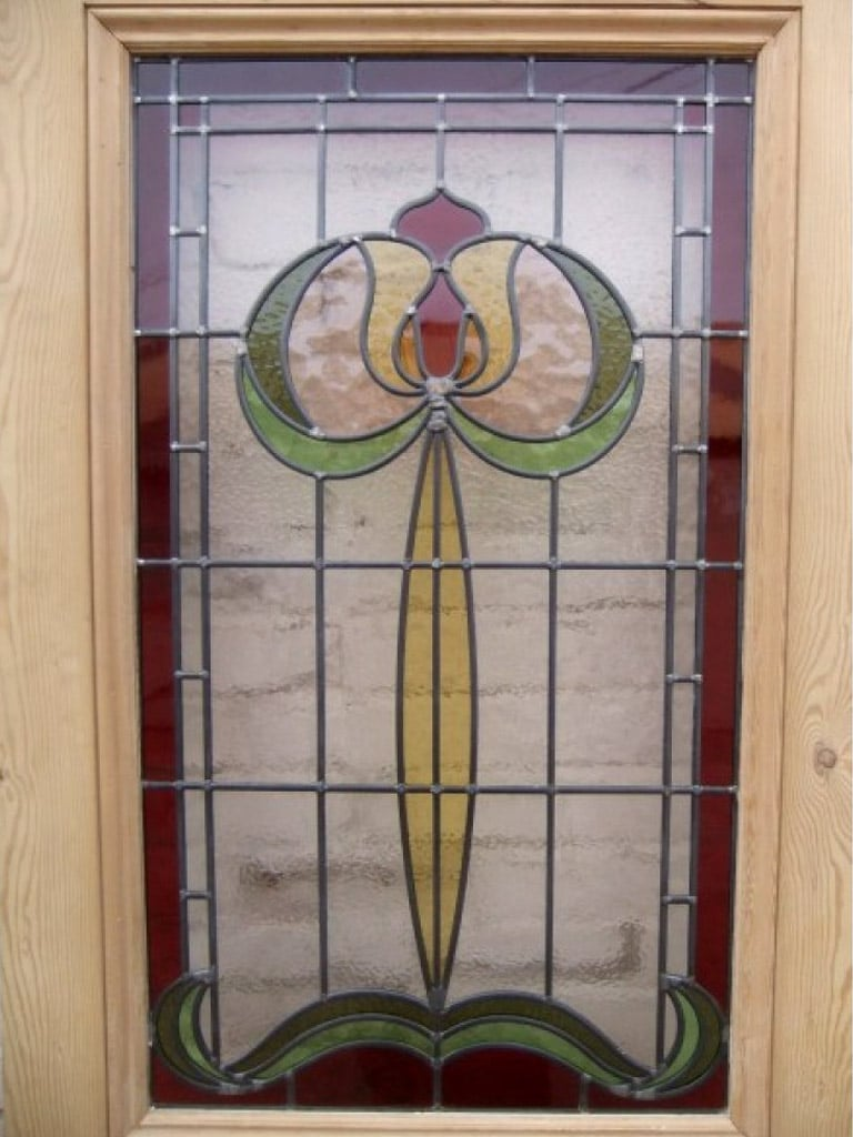 Exterior Door Stained Glass Home Decor
