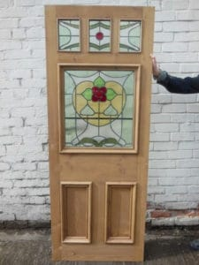 DP007 - The Nouveau Jersey Original Exterior Door