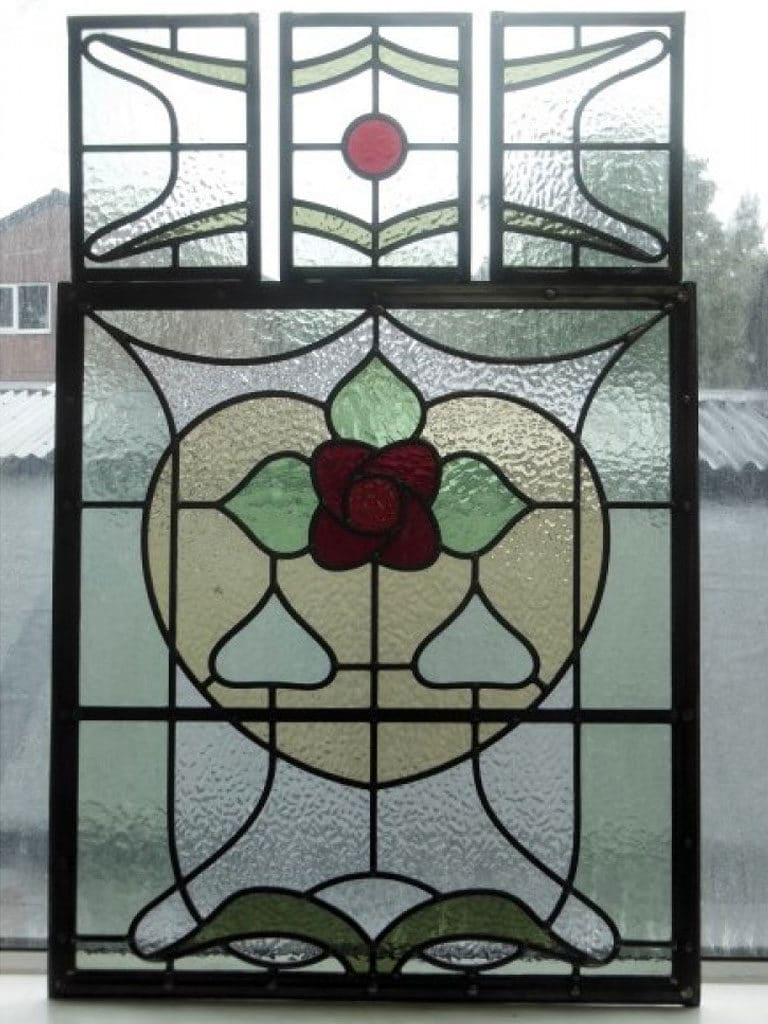 Sd007 Victorian Edwardian Original Stained Glass