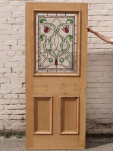 DP005 - Original Edwardian 3 Paneled Door