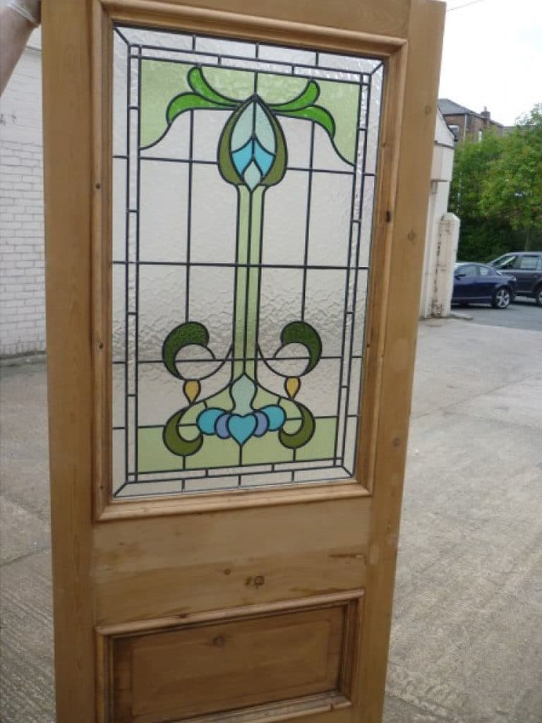 Victorian stained glass doors quotes for Glass outer door