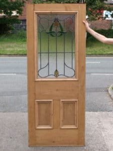 DP003 - Original 3 Panel Edwardian Door